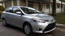 Bán ô tô Toyota Vios 2018, màu bạc, xe nhà sử dụng còn mới