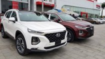 Bán Hyundai Santa Fe 2.4 AT năm sản xuất 2019, màu trắng
