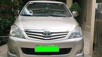 Cần bán Toyota Innova G đời cuối  2011 màu ghi vàng
