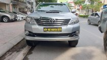 Cần bán lại xe Toyota Fortuner 2.5G MT năm 2015, màu bạc