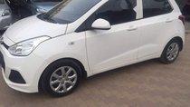 Cần bán lại xe Hyundai Grand i10 MT Base đời 2014, màu trắng, giá tốt