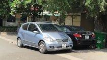 Gia đình bán ô tô Mercedes A150 đời 2008, màu xanh lam, nhập khẩu nguyên chiếc