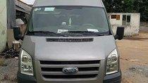 Bán Ford Transit 2.4L năm sản xuất 2010, màu bạc còn mới giá cạnh tranh