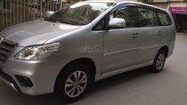 Cần bán Toyota Innova năm sản xuất 2016, màu bạc