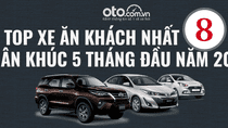 Top xe ăn khách nhất Việt Nam 5 tháng đầu năm 2019