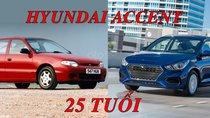 Chúc mừng sinh nhật 25 năm tuổi của Hyundai Accent