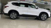 Cần bán xe Hyundai Santa Fe đời 2019, màu trắng, mới 100%
