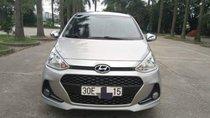 Cần bán Hyundai Grand i10 MT đời 2017, màu bạc, nhập khẩu, xe gia đình sử dụng từ mới