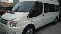 Bán Ford Transit Luxury date 2019 màu trắng, bạc, hồng phấn giao ngay