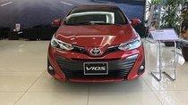 Bán Toyota Vios 1.5G sản xuất 2019, màu đỏ giá cạnh tranh