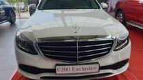 Bán Mercedes C200 Exclusive mới 2019, hỗ trợ ngân hàng 80%, nhiều ưu đãi