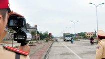 Những đoạn đường cho phép cảnh sát giao thông bắn tốc độ