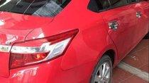 Cần bán Toyota Vios năm 2015, màu đỏ, xe nhập, giá tốt