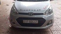 Bán xe Hyundai Grand i10 sản xuất 2014, màu bạc, nhập khẩu