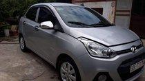 Bán Hyundai Grand i10 1.2 đời 2016, màu bạc, bản đủ
