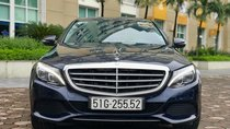 Cần bán xe Mercedes C250 Exclusive ĐK 2017, màu xanh cavansize
