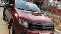 Cần bán Ford Ranger đời 2014, màu đỏ, nhập khẩu, 495 triệu