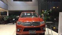 Bán Toyota Hilux 2.4E 4x2 AT đời 2019, nhập khẩu, 695tr.