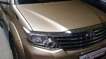 Bán Toyota Fortuner 2.7V năm 2016, màu vàng như mới