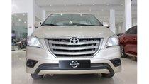Xe Toyota Innova 2.0 MT 2016, màu nâu vàng, trả trước chỉ từ 171 triệu