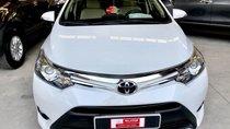 Bán Toyota Vios G sản xuất 2018, màu trắng, hỗ trợ ngân hàng 75%