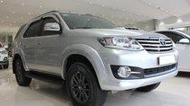Bán Toyota Fortuner G sản xuất 2016, máy dầu, số sàn, màu bạc, giá 845tr