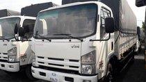 Xe tải Isuzu 8 tấn 2 thùng dài 7m Euro4 đời 2019, màu trắng - Hỗ trợ trả góp 80% xe