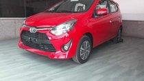 Bán ô tô Toyota Wigo 1.2AT năm sản xuất 2019, màu đỏ, xe nhập, 405tr