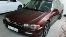 Bán xe Honda Accord sản xuất năm 1991, màu đỏ, nhập khẩu nguyên chiếc giá cạnh tranh