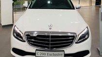 Bán xe Mercedes C200 Exclusive đời 2019, màu trắng