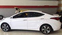 Bán xe Hyundai Elantra 1.6 AT năm 2015, màu trắng, nhập khẩu