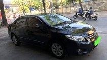 Bán Toyota Corolla altis 1.8 đời 2010, màu đen, nhập khẩu