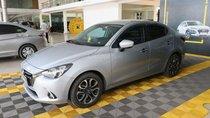 Bán xe Mazda 2 1.5AT đời 2017, màu bạc, 498tr