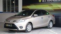 Bán Toyota Vios E 1.5MT đời 2016, màu vàng