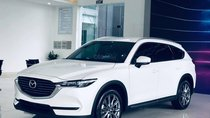 Mazda CX-8 2.5 Premium trắng, đầy đủ tiện nghi