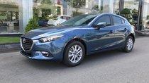 Cần bán Mazda 3 HB sản xuất 2019, màu xanh lam, tặng 1 BH thân vỏ, ưu đãi lên tới 20 triệu, hỗ trợ trả góp 85%