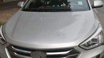 Bán Hyundai Santa Fe sản xuất năm 2015, màu bạc, nhập khẩu, gia đình rất giữ gìn