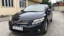 Cần bán gấp Toyota Corolla altis đời 2010, màu đen, nguyên bản, không đâm đụng va chạm