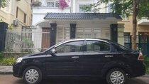Bán Daewoo Gentra đời 2009, màu đen, 156 triệu
