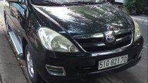 Bán xe cũ Toyota Innova 2006, màu đen