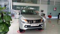 Bán Mitsubishi Triton năm sản xuất 2019, màu bạc, nhập khẩu nguyên chiếc