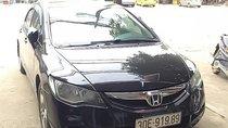 Cần bán gấp Honda Civic sản xuất 2008, màu đen số tự động, giá tốt
