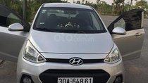 Cần bán Hyundai Grand i10 1.0 MT năm sản xuất 2015, màu bạc, nhập khẩu