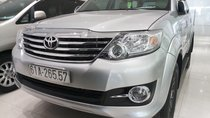 Cần bán xe Toyota Fortuner 2.7V (4x2) đời 2016, số tự động, màu bạc, giá tốt