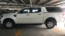 Cần bán xe Ford Ranger số sàn 1 cầu màu trắng 2016