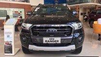 Bán Ford Ranger Wildtrak Bi đời 2019, màu đen, nhập khẩu nguyên chiếc