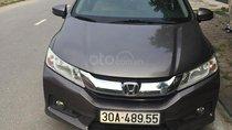 Chính chủ bán Honda City V 1.5 AT model 2015, màu xám (ghi) giá cạnh tranh