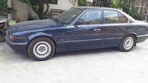 Bán ô tô BMW 5 Series 525i AT sản xuất 1990, màu xanh lam, xe nhập