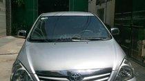 Cần bán Toyota Innova G đời 2011 màu ghi bạc