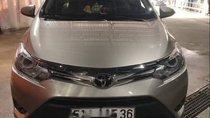 Bán Toyota Vios 2018, màu vàng cát, 510tr